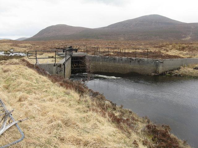Penstock entry from Loch Droma