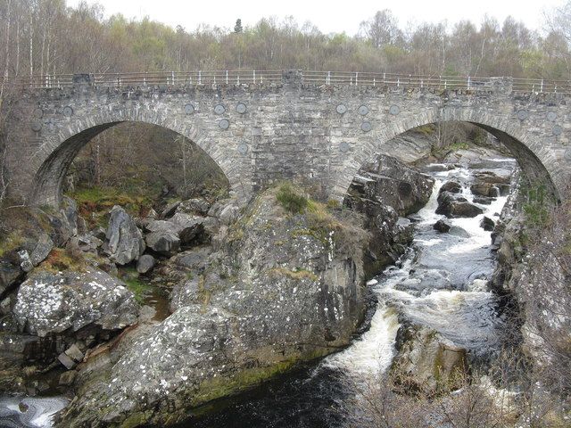 Silver Bridge over the Black Water