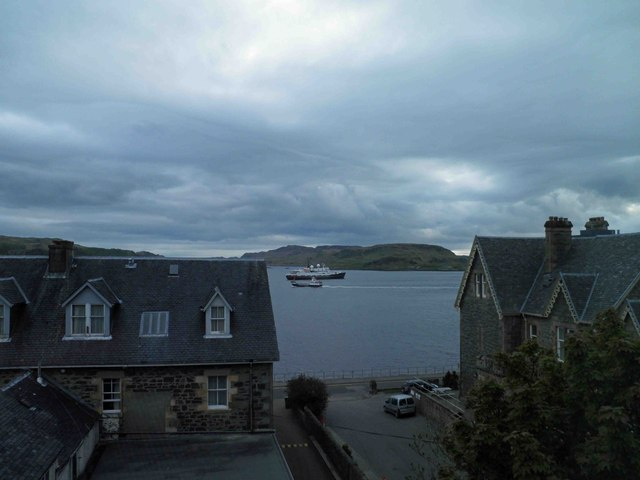 View from room 357 Oban Bay Hotel