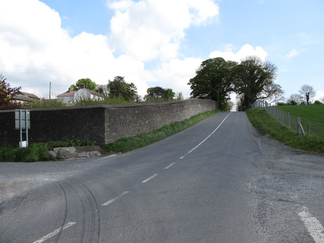 Approaching Shortstone Cross Roads from the south