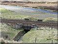 NN6572 : Culvert under the railway by M J Richardson