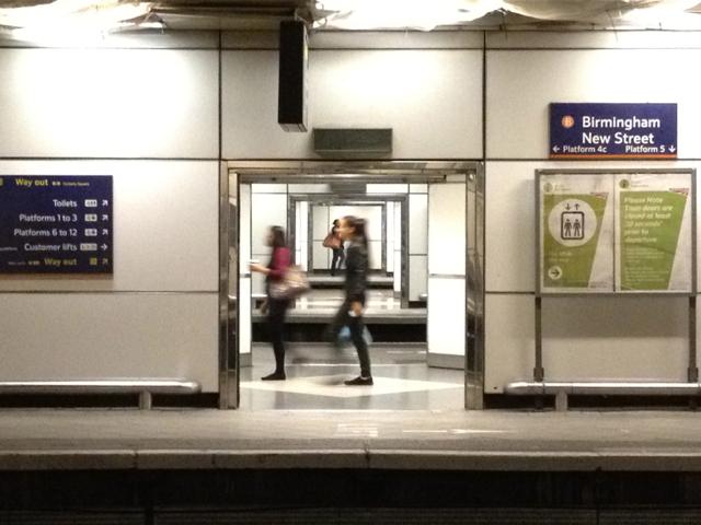 View across platforms, New Street station