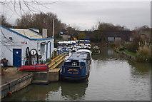 TL3706 : Broxbourne Marina by N Chadwick