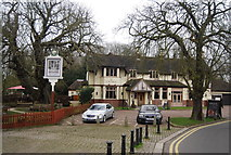 TL3706 : The Crown, Broxbourne by N Chadwick