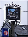 TG1720 : Marsham Arms Public House Sign by Adrian Cable