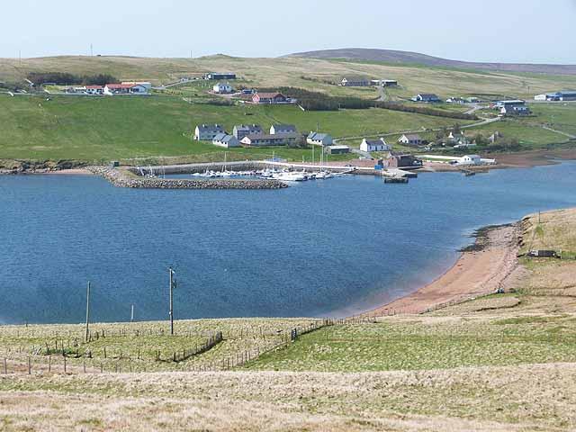 The marina at Easter Skeld