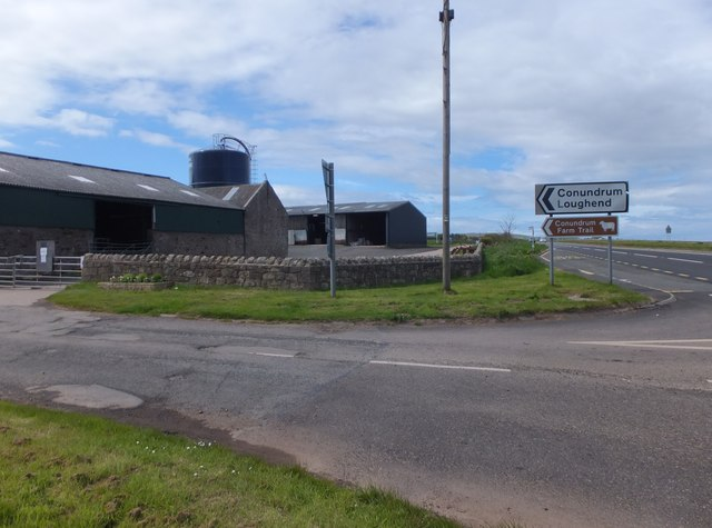 Junction for Conundrum and Loughend