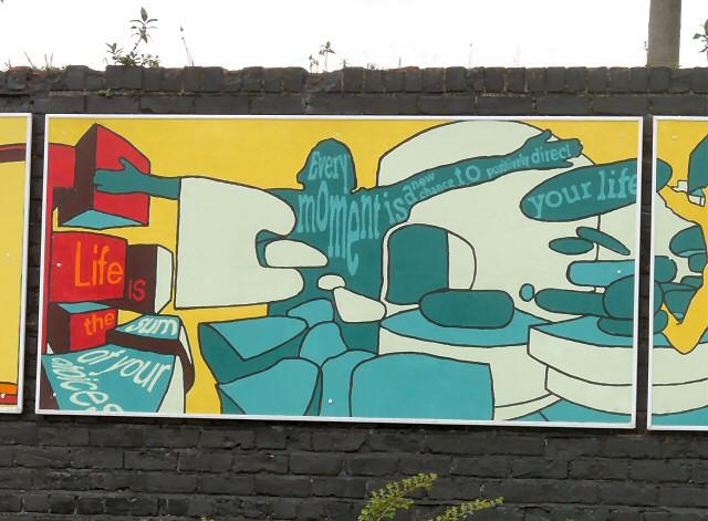 Reddish South Mural (Panel 2 of 5)