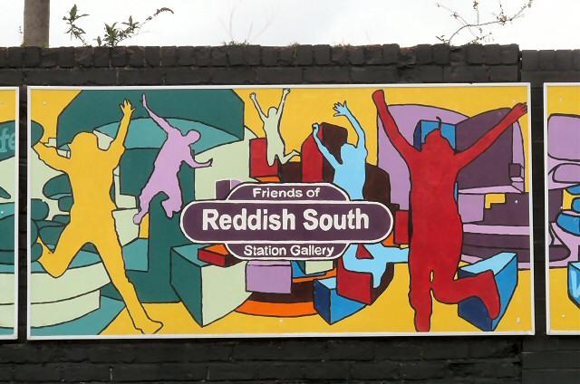 Reddish South Mural (Panel 3 of 5)