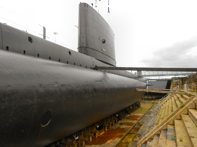 Chatham Dockyard, Dry Dock 3, HMS Ocelot