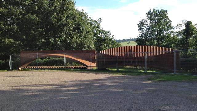 Parked sculpture, Yorkshire Sculpture Park