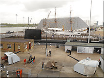 TQ7569 : Chatham Historic Dockyard,  The Big Space by David Dixon