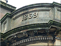 NS5765 : Date stone at Two Fat Ladies by Thomas Nugent
