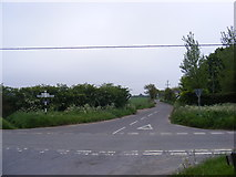 TG1422 : Easton Way junction by Adrian Cable