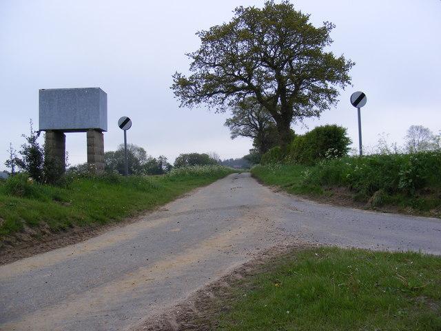 Road to Brandiston