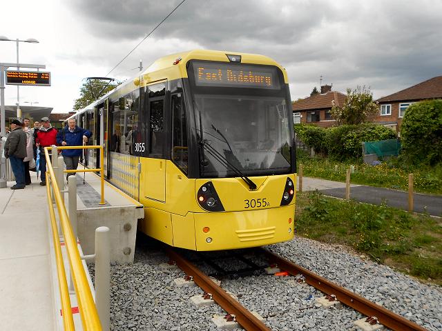 East Didsbury Metrolink Station