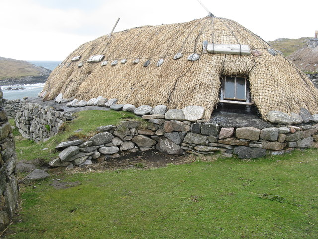 Blackhouse at Na Gearannan