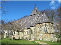 NY9449 : St. James's Church, Hunstanworth by Mike Quinn