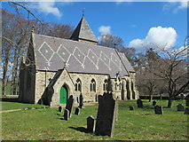 NY9449 : St. James's Church, Hunstanworth (2) by Mike Quinn