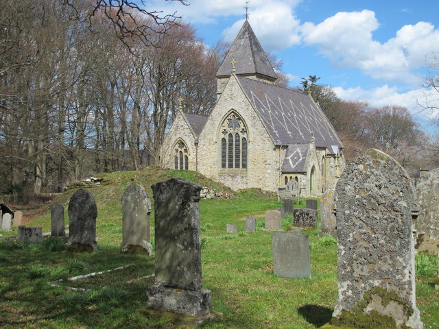 St. James's Church and churchyard, Hunstanworth