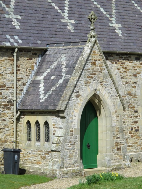 St. James's Church, Hunstanworth - porch