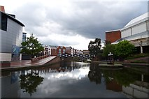 SP0586 : Canal from the Malt House by DS Pugh