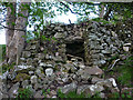 SD6888 : Ruined lime kiln near Rawridding by Karl and Ali