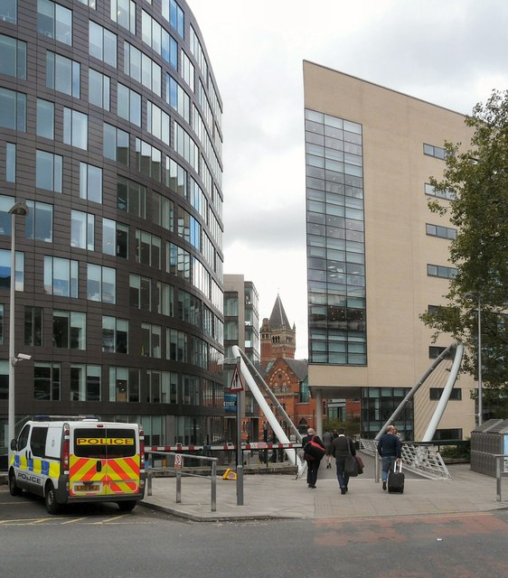 Minshull Street Court from Piccadilly Station