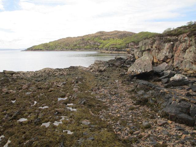 Coastline near Toscaig
