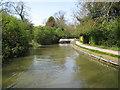 SP7089 : Grand Union Canal: Market Harborough Arm: Foxton swing bridge by Nigel Cox