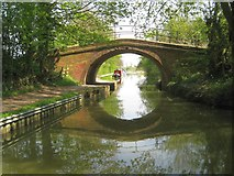SP7089 : Grand Union Canal: Market Harborough Arm: Clarkes Bridge by Nigel Cox