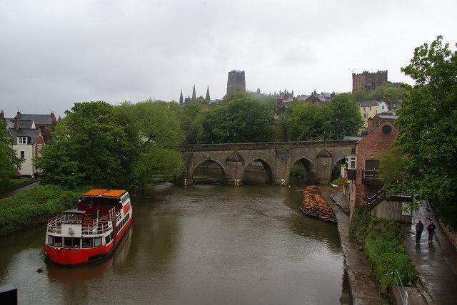 Elvet Bridge over the River Wear
