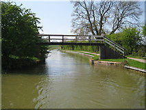 SP7089 : Grand Union Canal: Market Harborough Arm: Foxton Stepbridge by Nigel Cox