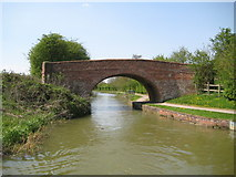 SP7189 : Grand Union Canal: Market Harborough Arm: Johnsons Bridge by Nigel Cox