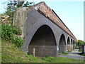 TF3902 : Former railway viaduct, Rings End, Cambridgeshire by Richard Humphrey