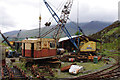 NY3224 : Mobile cranes, Threlkeld Quarry & Mining Museum by Ian Taylor