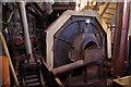 NY1921 : Ball mill, Force Crag Mine by Ian Taylor