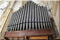 SE6052 : Organ Pipes, York Minster by Julian P Guffogg