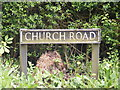 TM2897 : Church Road sign by Adrian Cable