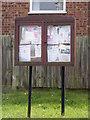 TM2993 : Woodton Village Notice Board by Adrian Cable