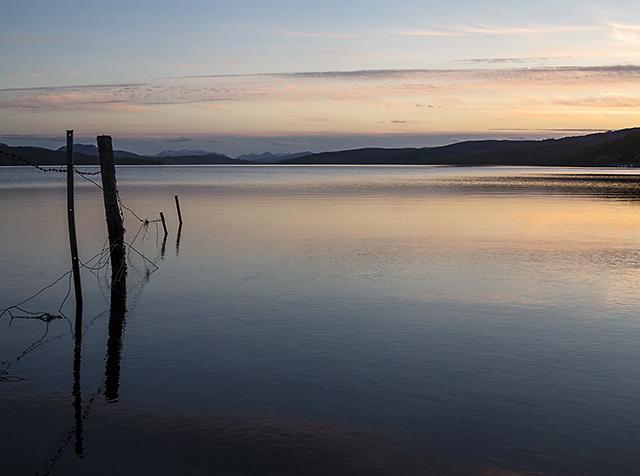 Loch Rannoch at dusk