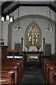 NY1717 : Church Interior by Anne Burgess
