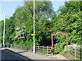 TQ4190 : Entrance to Roding Valley Park, South Woodford by Malc McDonald