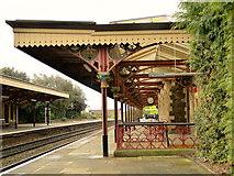 SO7845 : Up Platform, Great Malvern station by Philip Pankhurst
