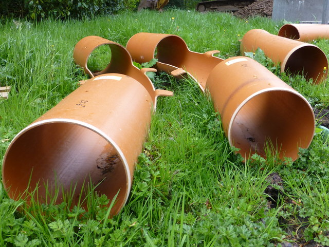 Sewer pipes, Tyrone and Fermanagh Hospital