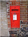 TM3389 : Wingfield Street George V Postbox by Geographer