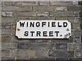 TM3389 : Wingfield Street sign by Adrian Cable