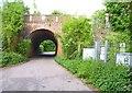 SU4833 : Railway Bridge near Woodhams Farm by Mike Smith