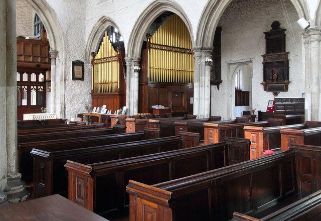 St Dunstan & All Saints, Stepney - Organ