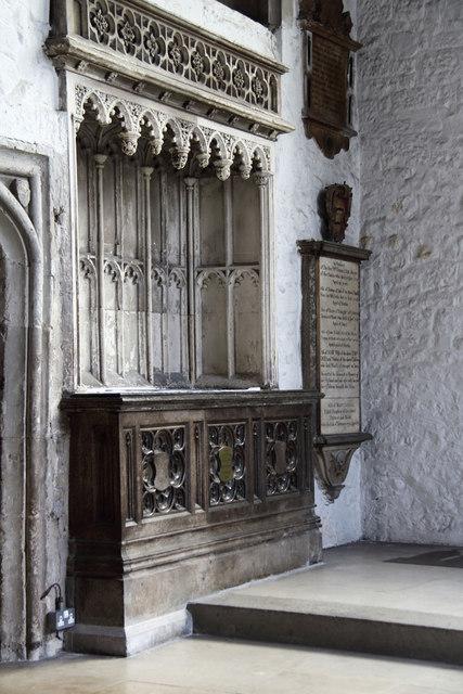 St Dunstan & All Saints, Stepney - Easter sepulchre